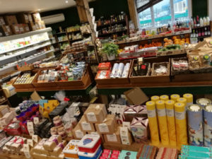 inside farm shop